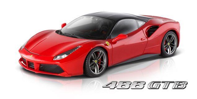 Bburago Signature Ferrari 488 GTB Scale 1/18