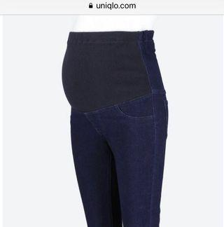 Uniqlo Maternity denim legging pants