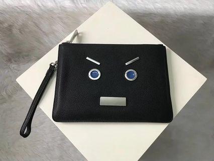 Fendi clutch Bag wallet not gucci prada LV bally Burberry coach
