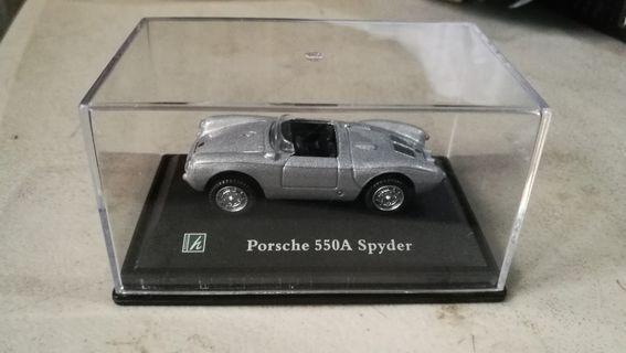 porsche 550A spyder diecast