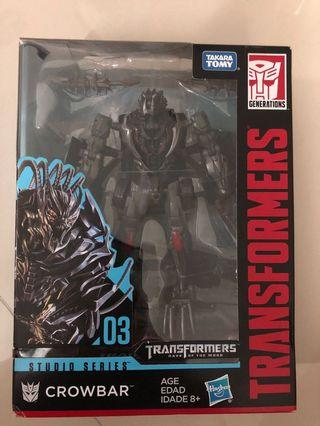 Transformers Crowbar 8yrs+