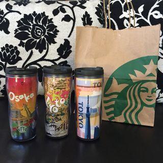 SALE!! Japan Limited Edition Starbucks City Tumblers