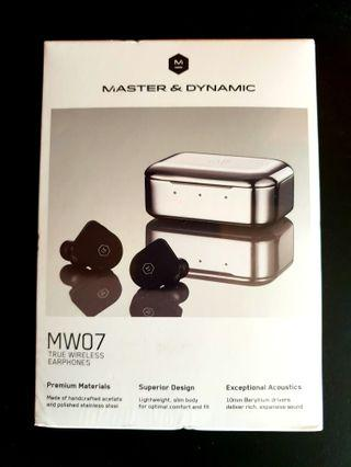 🚚 Master & Dynamic MW07 wireless Matte Black