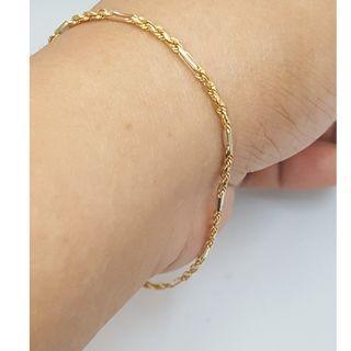 18k / 750 gold bracelet