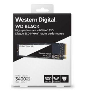 🚚 Western Digital (WD) BLACK SSD M2.NVMe 500GB 3400MB/s *GENUINE, ORIGINAL UNOPENED PACKAGING, GAMING SSD, ULTRA SPEED!*