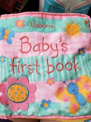 Baby's first book布書