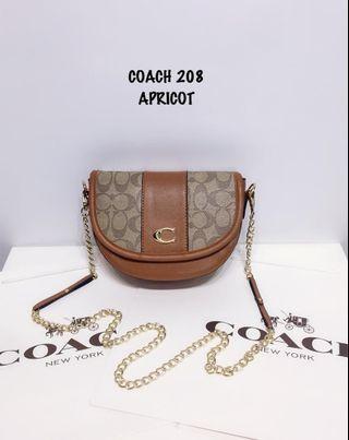 COACH SLING BAG 208
