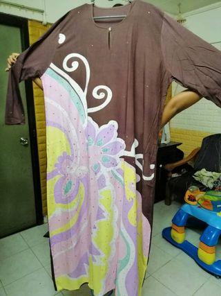 Jubah Batik with Diamonds