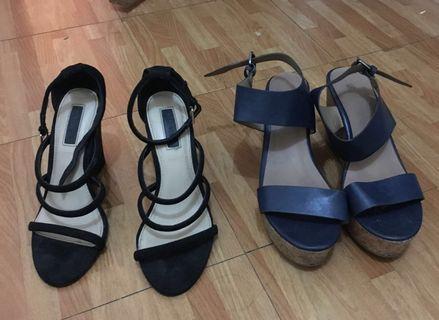 High heels wedge