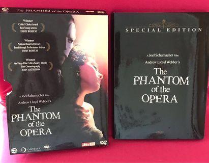 歌聲魅影 The Phantom of the Opera DVD