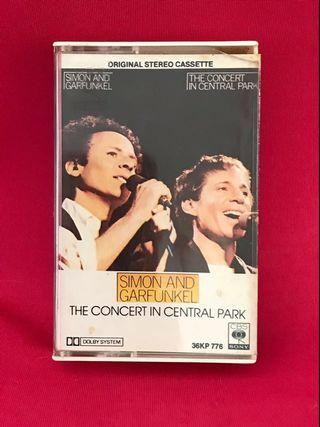 Simon and Garfunkel - The Concert in Central Park 卡式帶