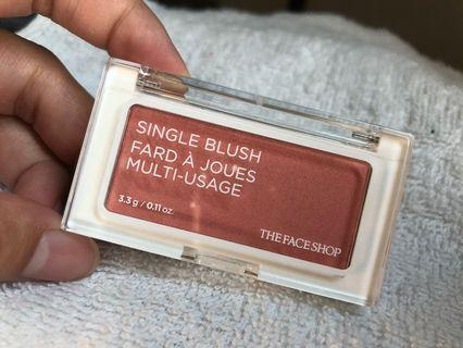 The Face Shop Single Blush OR03 India Red
