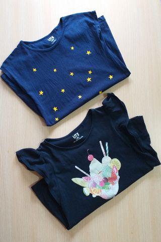 Uniqlo kids shirts