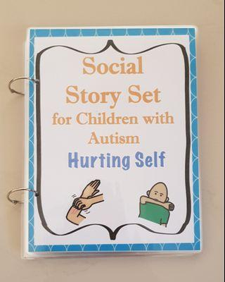 🚚 Social Story Set (Hurting Self) Autism