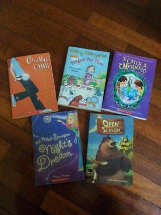 Assorted Scholastic Books
