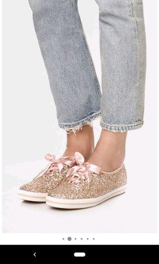 d494a31726c Keds x Kate Spade New York Glitter Sneakers (US 6.5)