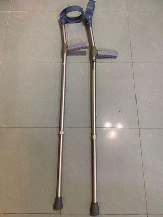 拐杖連氣墊護腳套