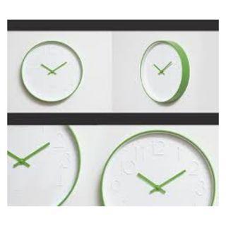 Green Minimalist Wall Clock Brand New