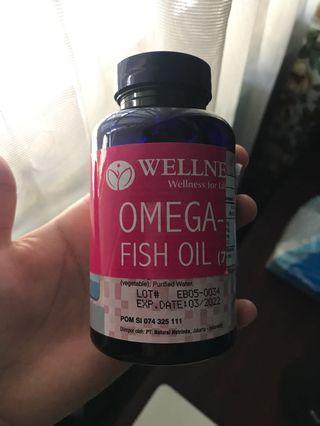 Wellness Omega 3 Fish Oil 75 Softgels