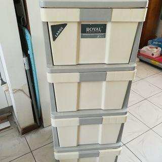 """""""Royal"""" Chest Of Four Large Drawers"""
