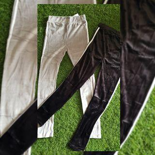 New Celana legging buludru Import Lembut