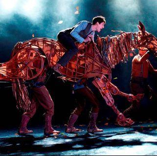 (平放) 戰馬War Horse舞台劇 門票2張