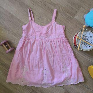 18M Spaghetti Pink Dress for Summer