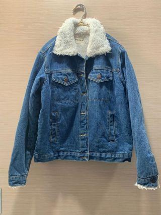 🚚 #便宜出清⚠️#牛仔毛外套
