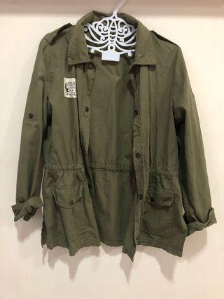 Parka Olive Green Jacket