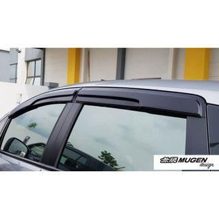 HONDA JAZZ  2014-ABOVE MUGEN Door Visor Window Deflector