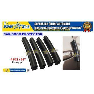 Rubber Strip Car Door Protector Anti Collision Scratch Door Guard Edge 11cm