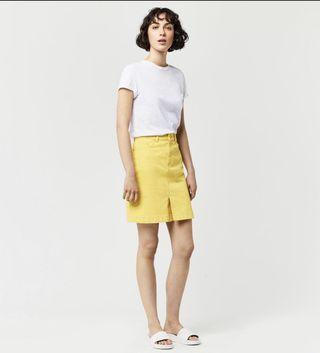 Warehouse Yellow Skirt