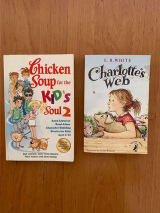 🚚 Charlotte's Web & Chicken Soup