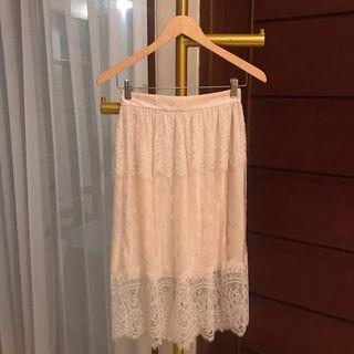 Lace Skirt hnm