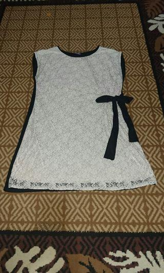 Midi Dress Krem