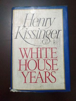 BOOK - Henry Kissinger: White House Years