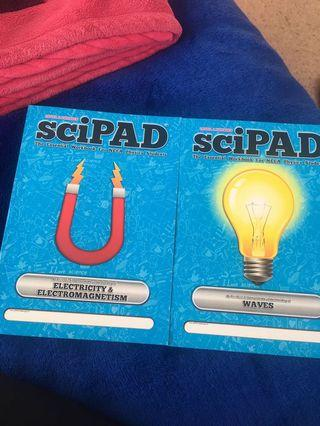 Level 2 Physics Scipads