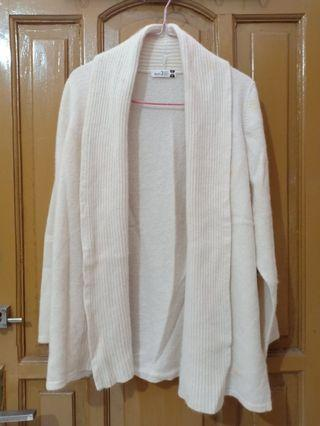 White Knit Outer