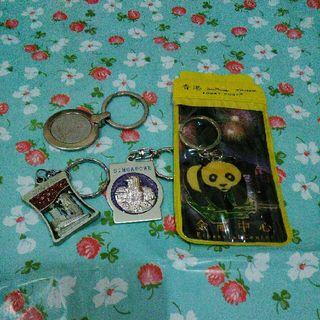 Take All 4 Keychain Gantungan Kunci Import Hongkong Hk Singapore Sg