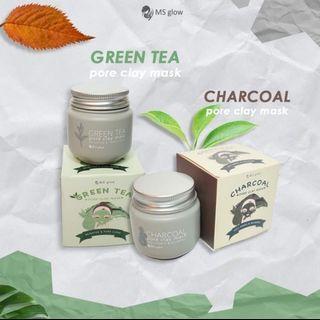 MS GLOW MASKER GREEN TEA