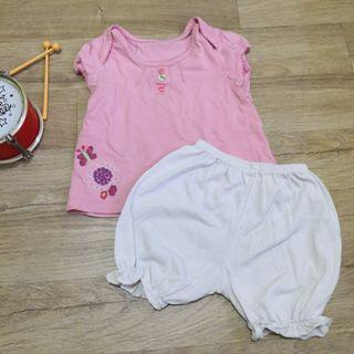 🚚 FOC 12M to 18M Home Wear Set