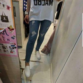 韓國 Wheel 貼腳牛仔褲 Skinny Jeans
