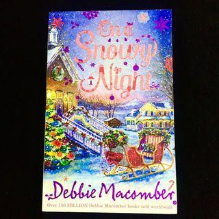 On A Snowy Night by Debbie Macomber (Christmas romance book)