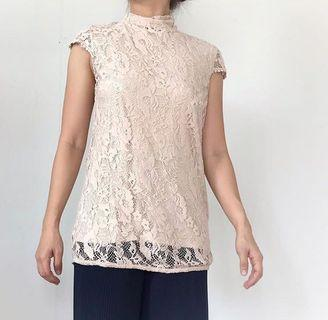 Lace Top ZARA