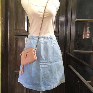 Denim Skirt rok celana jeans