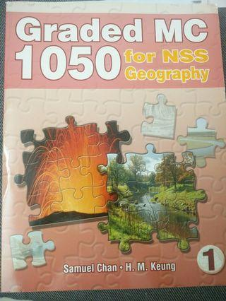 Graded MC 1050 for NSS Geography 1,2,3