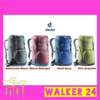 Deuter WALKER 24 Daypack Backpack School Bag Work Travel Leisure