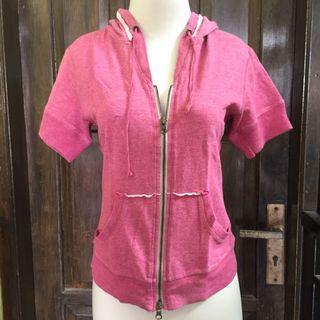 hoodie shirt pink