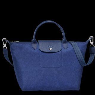 Authentic Longchamp Top Handle Bag with a removable shoulder strap (L1512690087)