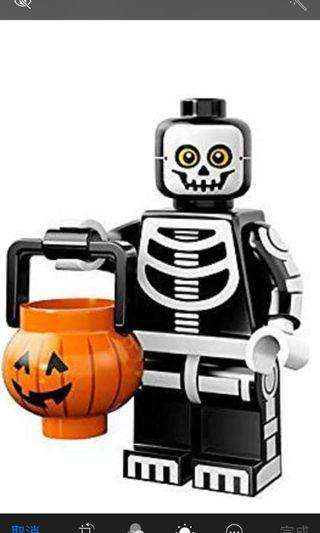 Lego minifigures series 14 skeleton guy